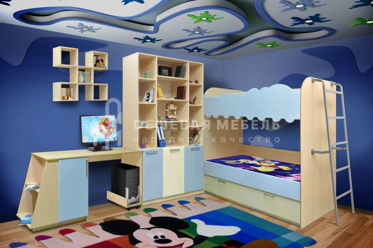 Детская мебель на заказ Питер Пен арт.1