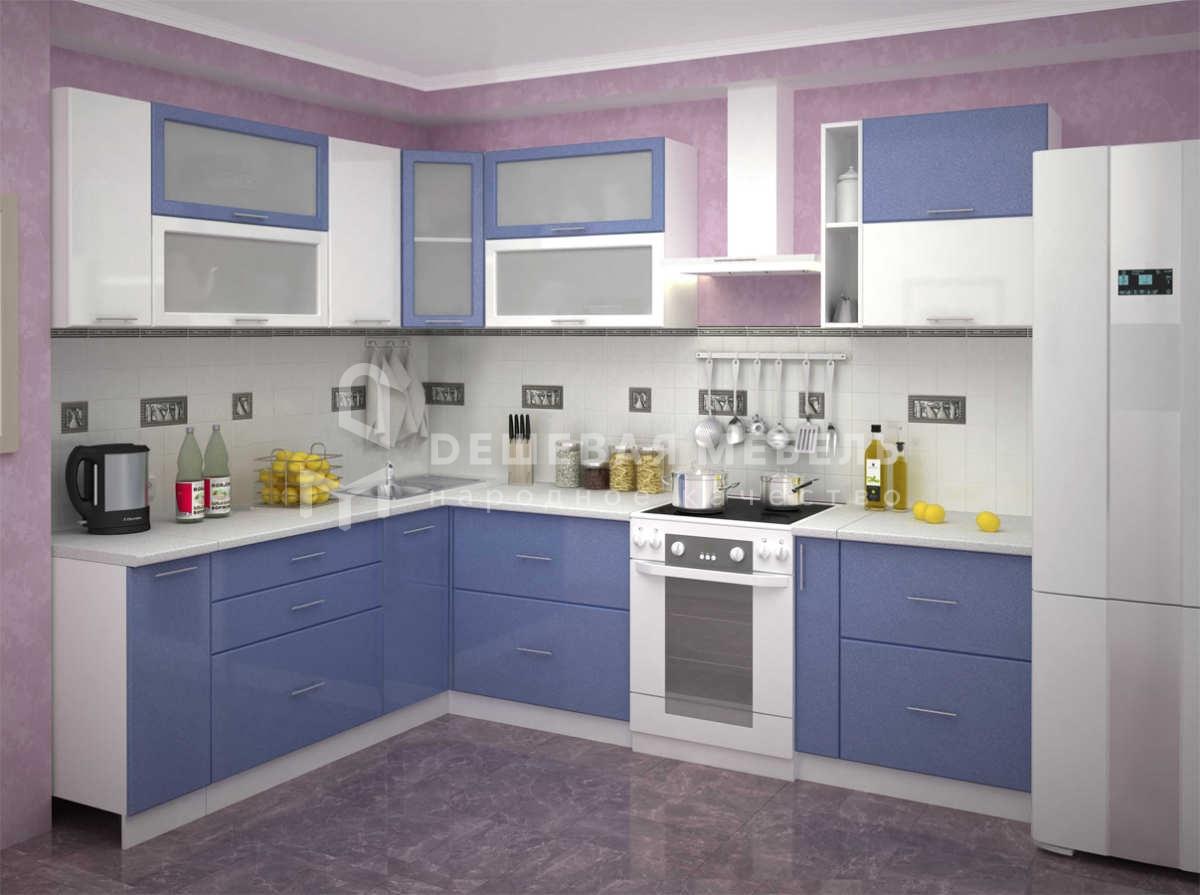 Кухня Стайл синяя