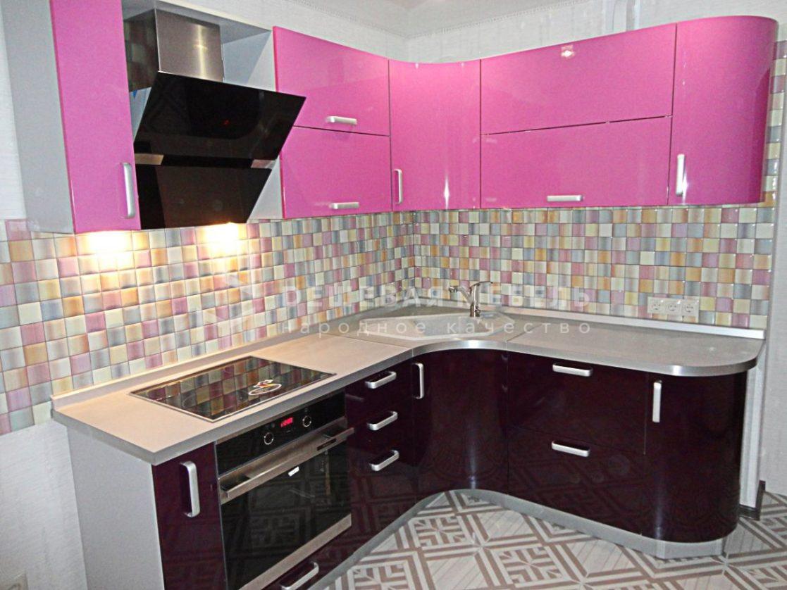 "Розовый кухонный гарнитур ""Блеск арт.23"""