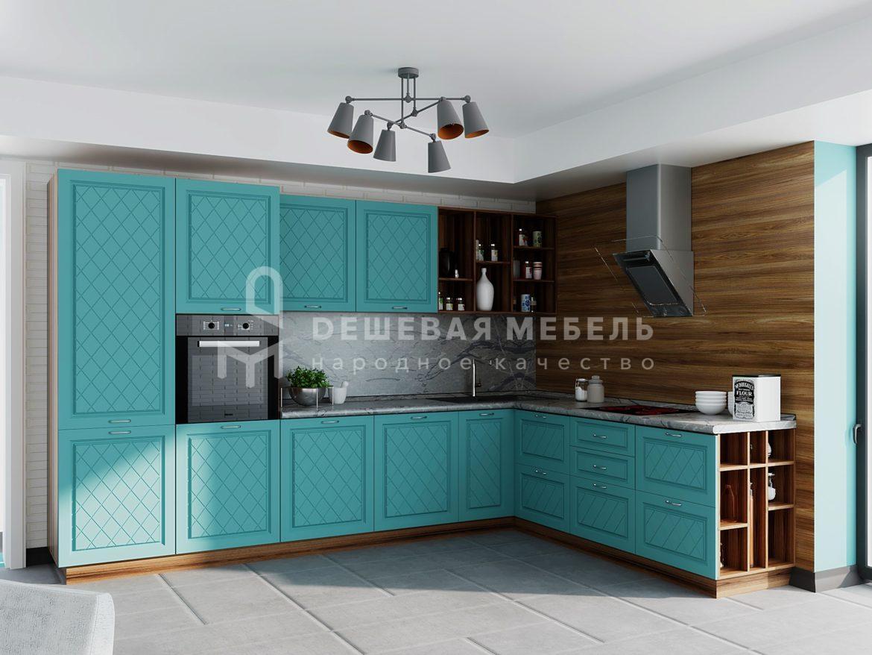 """Угловая кухня на заказ """"Аврора"""" от производителя"""