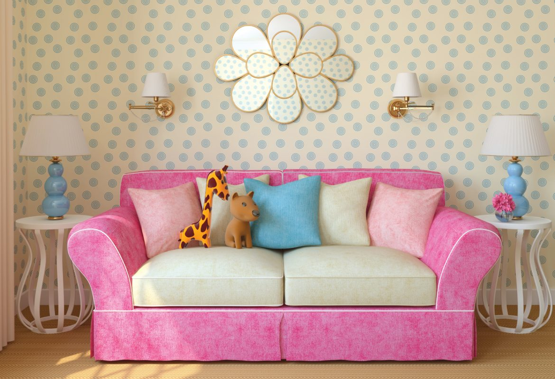 Картинки дивана в комнате для детей