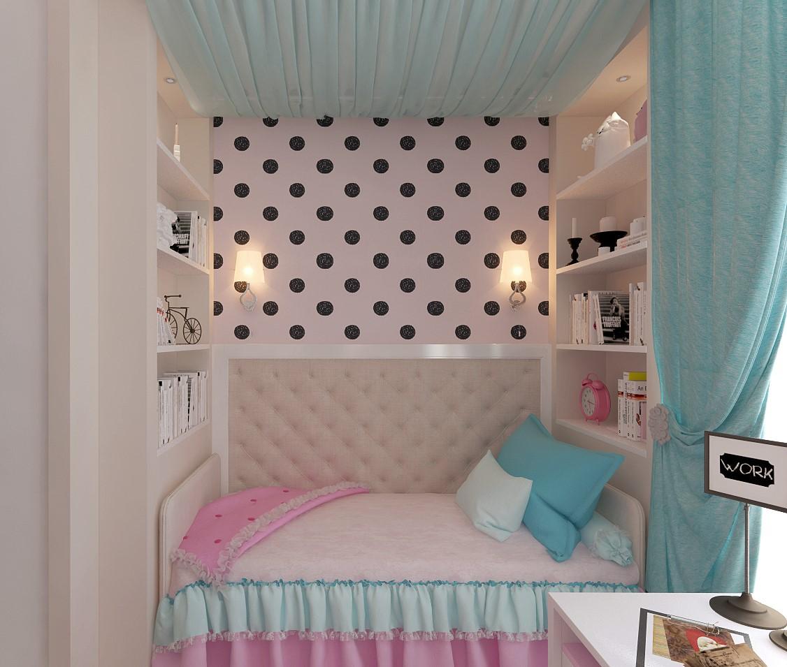разделить комнату на детскую и гостиную