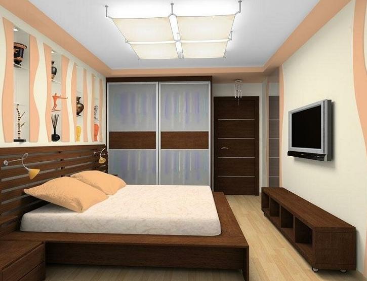 план расстановки мебели в спальне